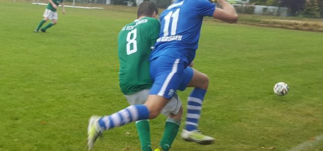 FC Schechingen I – VfL Iggingen I    3 : 2 ( 1 : 2 )