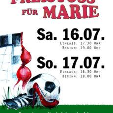 Freistoss für Marie